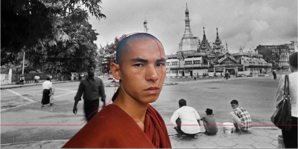 """Nyein Chan Su, """"Smile of a Monk"""""""
